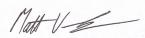 image of matts signature
